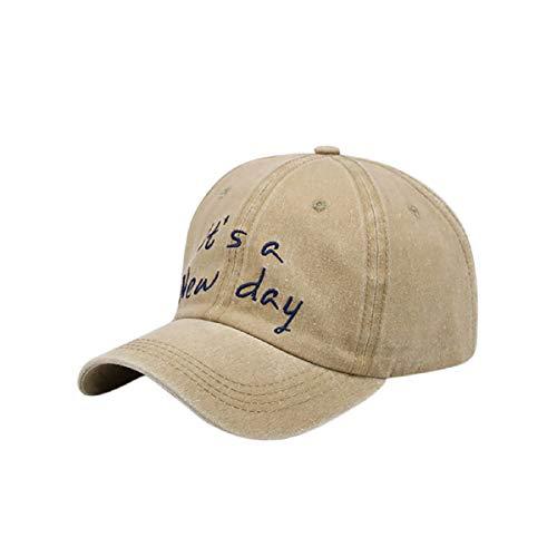 Barlingrock Unisex Baseball Cap Sommerhut Atmungsaktiv Bestickte Kappe Einstellbar Reversible Cloche Hut