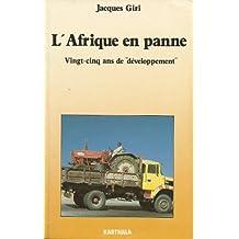 L'Afrique en panne