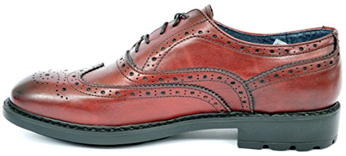 drudd , Chaussures de ville à lacets pour homme Bordeaux