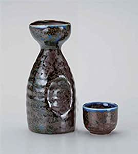 Irori 6.7cm Carafe a Sake & Tasse s Sake porcelain Originale Japonaise