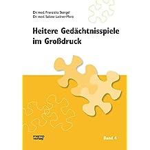 Heitere Gedächtnisspiele im Grossdruck: Heitere Gedächtnisspiele im Großdruck, Bd.4