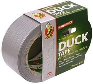 LOCTITE, 50 mm Breite X 25MTRS Duck Duck Tape Rolle, TapeO (Dichtmasse, Halterung, Super Glue Klebstoff Und Klebeband)