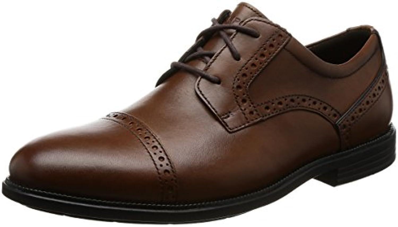 Rockport Madson Cap Toe, Zapatos de Cordones Derby para Hombre -