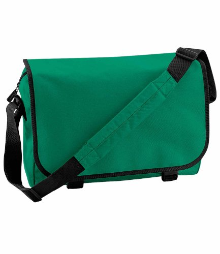 Bagbase Unisex Adulti Borsa A Tracolla kelly verde