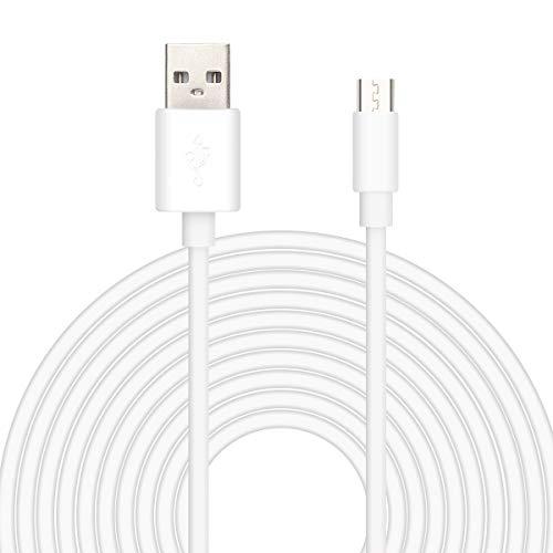 16.5FT Micro USB Stromverlängerungs kabel für drahtlose Haussicherheits kamera/WyzeCam/Yi home Cam/Arlo Cam/Furbo Dog Cam/Oculus Go Ge-wireless-kamera