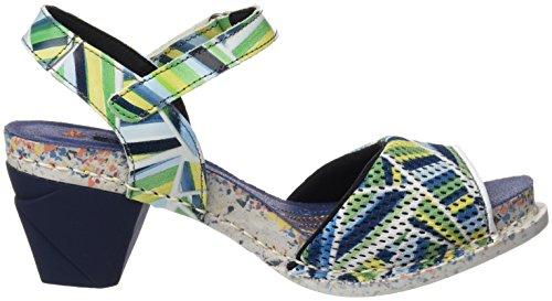 ART 1120 Fantasy i Enjoy, Sandali con Cinturino alla Caviglia Donna Multicolore (Stripes)