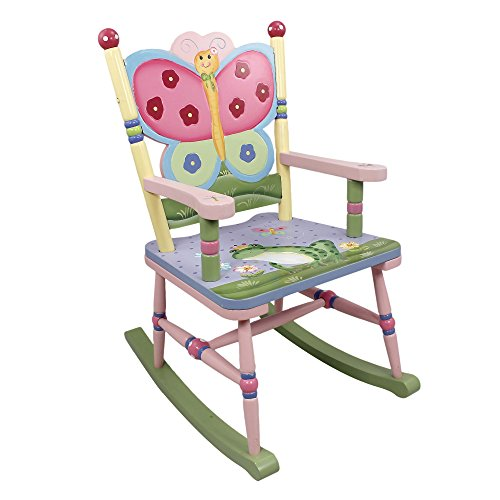 Mecedora de madera para niños Magic Garden de Fantasy Fields W-7499A