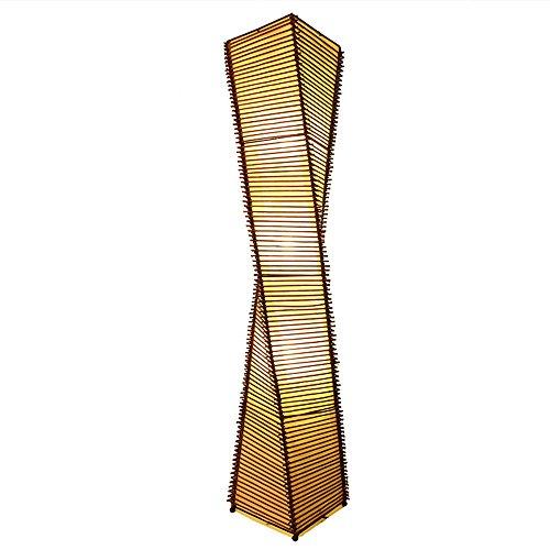 Lampe de plancher chinoise personnalité créative salon table basse étude lumière de bambou nouvelles lampes classiques Inn Inn
