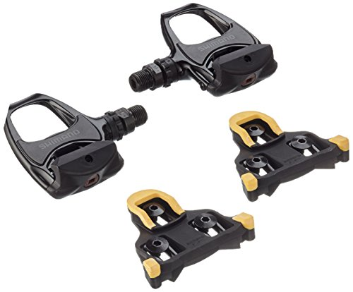 SHIMANO PDR540 Pedales, Unisex, Negro, Talla Única