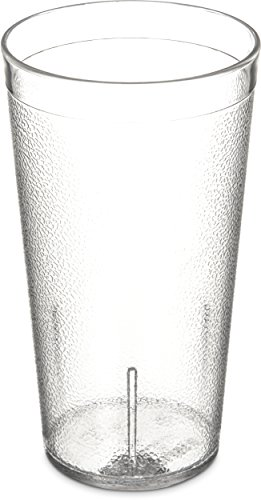 Carlisle Polycarbonat stapelbar Tumbler 16Unze, farblos, 24 24 16 Oz Glas