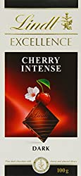 Lindt Excellence Cherry Intense Chocolate 100 Grams - Imported; Premium Quality.