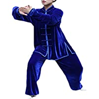 Unisex Kung Fu Tai Chi Ropa Artes Marciales Chándales Tops+Pantalones