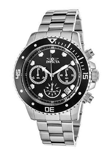 Invicta Reloj Análogo clásico para Unisex Adultos de Cuarzo con Correa en Acero Inoxidable 9309