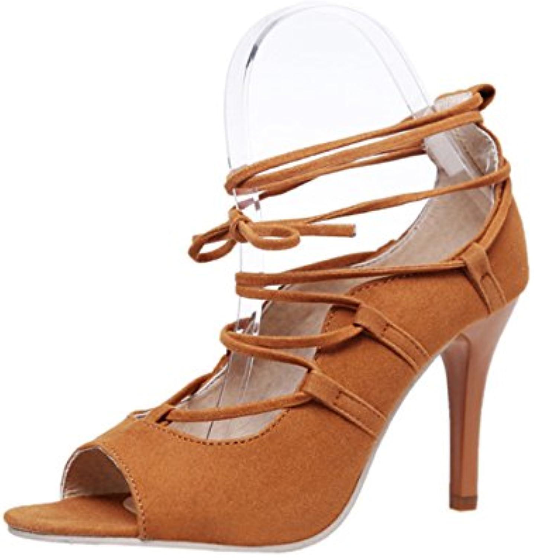 ba09faec27998 Women Stilettos High Heels Summer Roman Shoes Fish Mouth Mouth Mouth Cross  Strap Shoes Women s Open