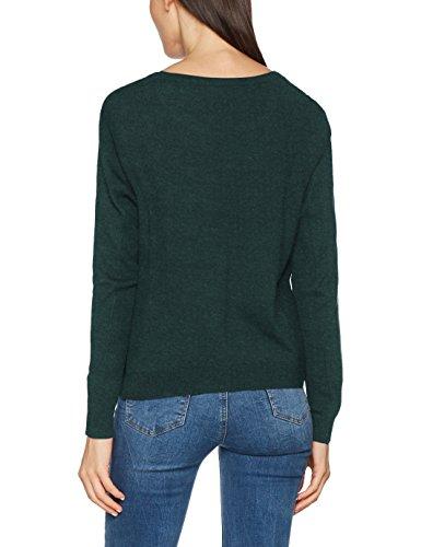 ESPRIT Damen Pullover Grün (Bottle Green 5 389)