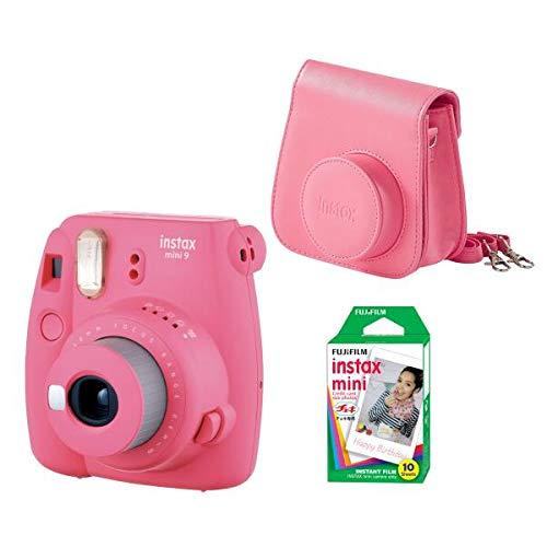 Fujifilm Fj-Mini 9 Kit Pink Kit De Alarma Kit Instax Mini 9
