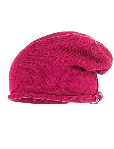 maximo Beanie, Bonnet Fille Rot (Rot (dunkelpink 57) 57)