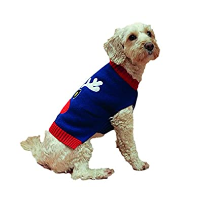 Rosewood Christmas Reindeer Jumper for Dogs, Large, Navy