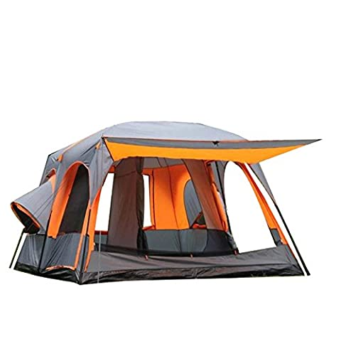 ALLIN Family Tent 8-12 Personne Tente Luxe Ultra Large Waterproof For Party Camping Picnic Beach