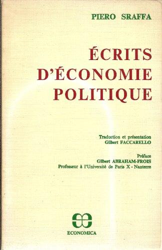 Écrits d'économie politique