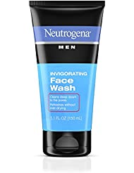 Neutrogena Men Invigorating Face wash - 5.1 Oz