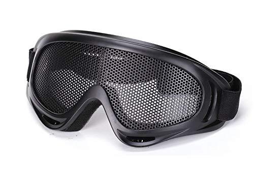 Preisvergleich Produktbild KOMNY Reitbrille Eisennetzsicherheitsschutzbrillen anti-shock Bergsteigen CS Schutzbrillen im Freien taktische Gläser,  A