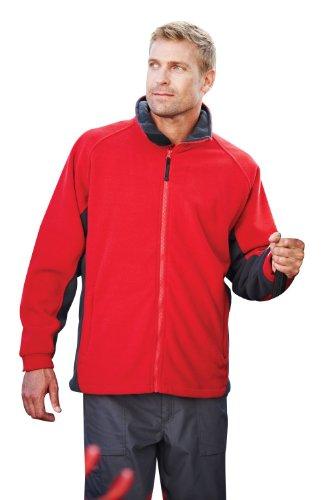 RG644 Omicron II Fleece Jacket Jacke bis 3XL classic red-seal grey