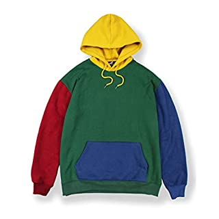 Agora Colour Block Hoodie Herren (Large)