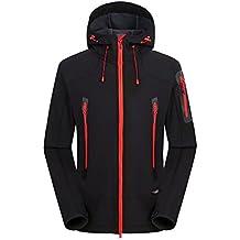 f664a4f254673 Ynport Crefreak Softshell Veste Hommes Trekking Ski Imperméable Manteau De  Pluie en Plein Air Randonnée Vêtements