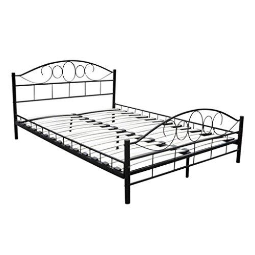 metal-bed-180-x-200-cm-black-curved
