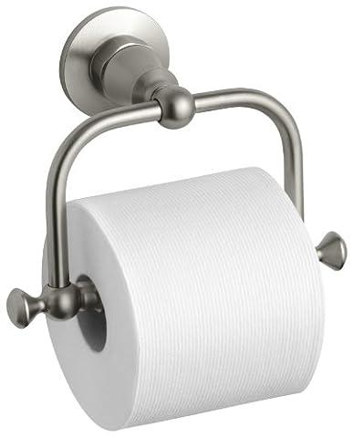 Kohler k-211-bn Antik Toilettenpapier Halter, Vibrant, Nickel gebürstet (Bn Vibrant Nickel Gebürstet Wc)