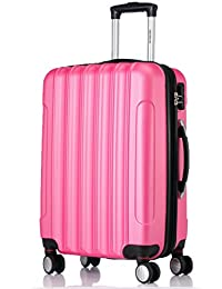 2050 doble ruedas carcasa rígida maleta estuche de viaje en M, L, XL en 12 colores