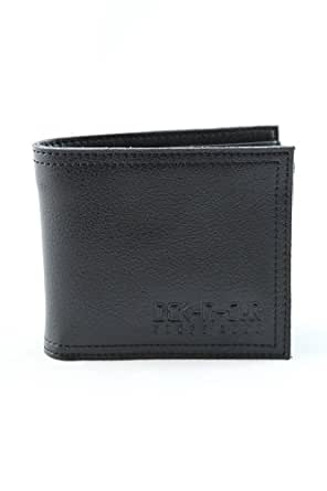 Duck and Cover Debossed Leather Wallet White