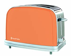russell hobbs hot orange toaster. Black Bedroom Furniture Sets. Home Design Ideas
