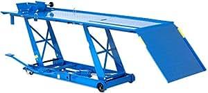 Motorradhebebühne XXL blau 450KG