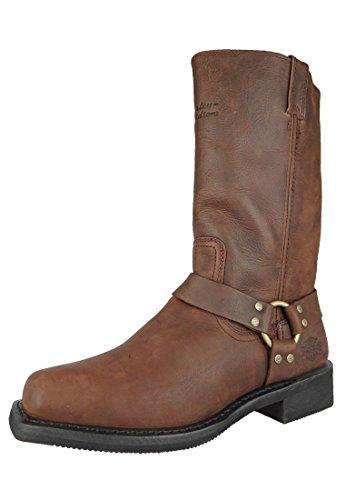 HARLEY DAVIDSON Chaussures - Bottes HUSTIN - lt brown Lt. Brown