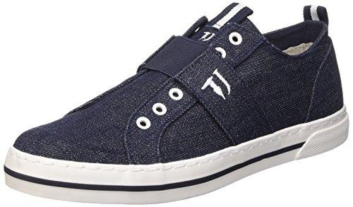 Trussardi Jeans 77S05649 Scarpe da ginnastica, Uomo, Blu (47 Denim), 42