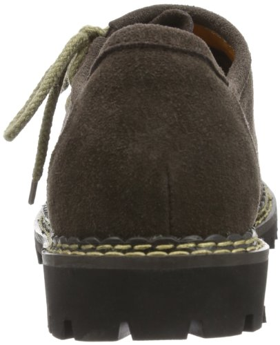 Wolpertinger wpW07015-1cdbM, Chaussures basses homme Marron (Suede dark brown)