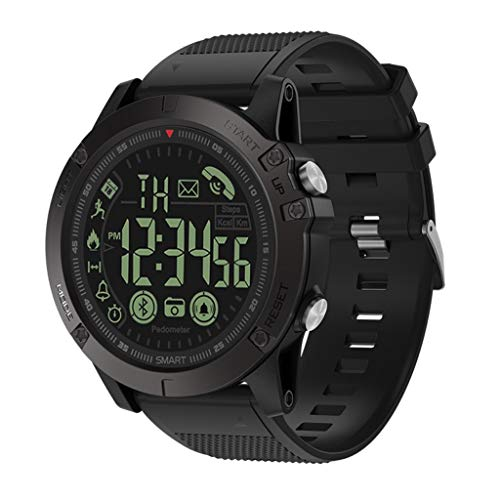 Bearbelly Smart Watch PR1-Pro Bluetooth Wasserdicht Schrittzähler Kalorien Berechnung Information Erinnerung Leuchtzifferblatt Smart Armband Sportuhr Schrittzähler Activity Tracker