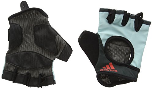 Adidas Gants de fitness Blanc Bleu