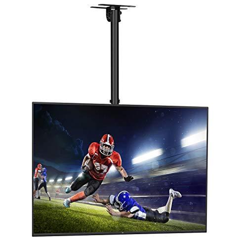 SIMBR Soporte TV de Techo con Altura Ajustable Soporte para Televisión con...