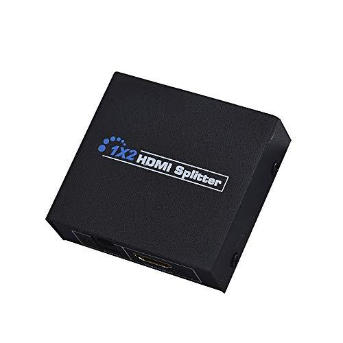 Cyond HDMI Mini Splitter 1x2 2 Port v1.3 1080p Verteiler 1 x IN 2 x Out Unterstützung 3D PS4 DVD HDTV 1.3 Video Splitter