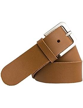 Cinturón de cuero - 4 cm de ancho - Para cinturas de 100 a 170 cm