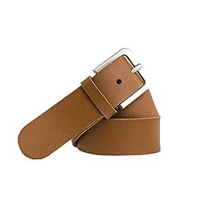 Cinturón de cuero – 4 cm de ancho – Para cinturas de 100 a 170 cm