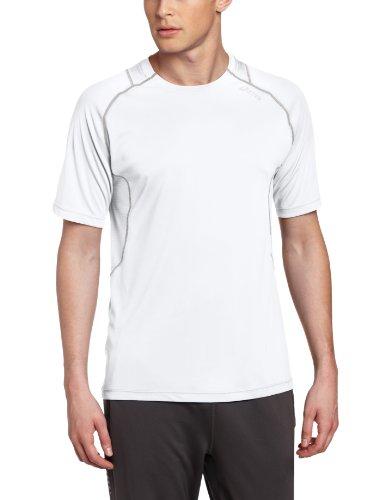 ASICS Herren Lite-Show High Visibility Favorite Kurzarmshirt, Herren, weiß, XX-Large -