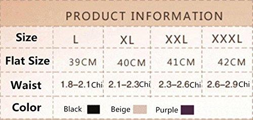 XIONGMEOW Donne Body Shaper Butt Lifter Push Up Intimo Post-parto Vita Alta Senza Soluzione Di Continuità Tummy Control Shaping Knickers Shapewear Slip black