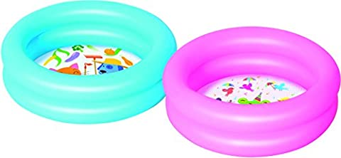 Bestway - Round 2-Ring Kiddie Pool, Planschbecken 61x15