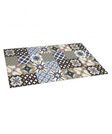 ALFOMBRA DE VINILO HIDRAULICO - Medidas de alfombra - 80cmx150cm
