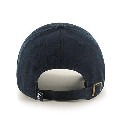 47 Brand Erwachsene Kappe MLB New York Yankees Clean Up Navy