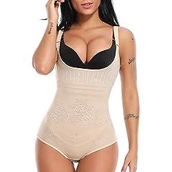 MISS MOLY Femme Shaperwear Minceur Combinaisons Sculptantes Body Shaper Gaine Amincissante Body Gainant